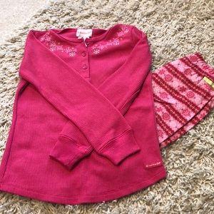 American Girl 2 piece Pajama Set